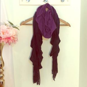 Purple and Navy Ombré Scarf!